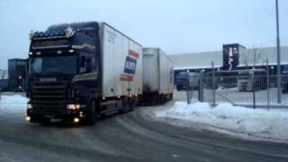 Scania R580 loud pipes!