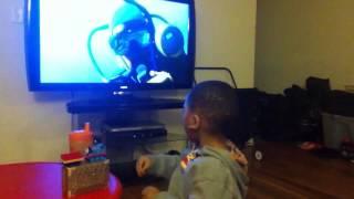 getlinkyoutube.com-Cazzie loves Finding Nemo