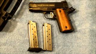 getlinkyoutube.com-1911: Rock Island Compact Tactical 9mm at the Range