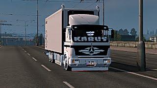 getlinkyoutube.com-Euro Truck Simulator 2 Mercedes - Benz 2521 Aragaz Show