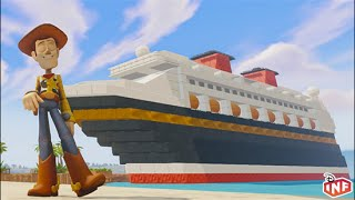 getlinkyoutube.com-Disney Dream Vacation a Disney Infinity Toy Box preview