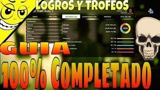 getlinkyoutube.com-GTA 5 - Como Completar El 100% Guia!! Modo Histori