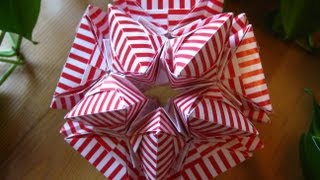 getlinkyoutube.com-Origami ɛ♥ɜ Air Kiss ɛ♥ɜ Kusudama