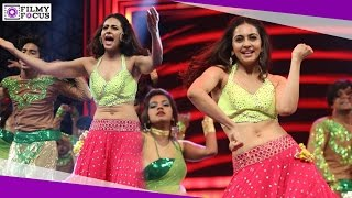 Rakul Preet Singh Dance Performance At 63rd Filmfare Awards Function 2016 - Filmyfocus.com