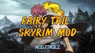 getlinkyoutube.com-Fairy Tail Dragon Slayer Overhaul - Skyrim Fairy Tail Magic Mod