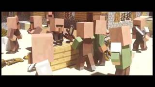 getlinkyoutube.com-Minecraft songs:Dragons(Radioctive Imagine Dragons