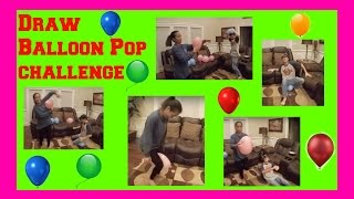 getlinkyoutube.com-Drawing Balloon Pop Challenge!