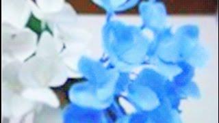 getlinkyoutube.com-Paper Flowers - Hydrangea (Flower # 31)