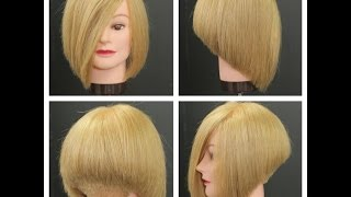 getlinkyoutube.com-Stacked Bob Haircut Tutorial