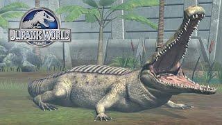 getlinkyoutube.com-El Cocodrilo Mas Fuerte SARCOSUCHUS de Jurassic World
