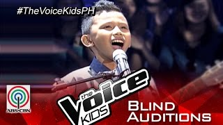 """getlinkyoutube.com-The Voice Kids Philippines 2015 Blind Audition: """"Thinking Out Loud"""" By Gian"""