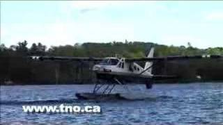 getlinkyoutube.com-Turbo Beaver Takeoff and Landing at True North Outposts
