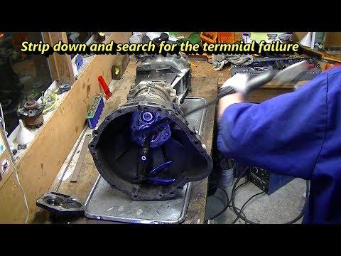 Nissan Terrano Gearbox Teardown