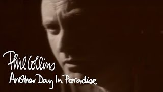 getlinkyoutube.com-Phil Collins - Another Day In Paradise (Official Music Video)