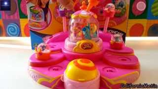getlinkyoutube.com-Glitzi Globes Playset Showcase Toy Glitter Domes With Pony and Animals