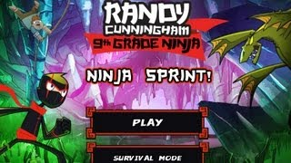 getlinkyoutube.com-Games: Randy Cunningham: 9th Grade Ninja - Ninja Sprint (Part 1)