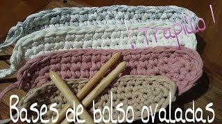 getlinkyoutube.com-Bases de Trapillo Ovaladas.! Tutorial DIY Crochet.XXL...¡¡¡¡