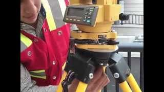 getlinkyoutube.com-total station set up, engineering, surveying an layout fuctions