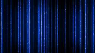 Blue Vertical Light Particles - HD Background Loop