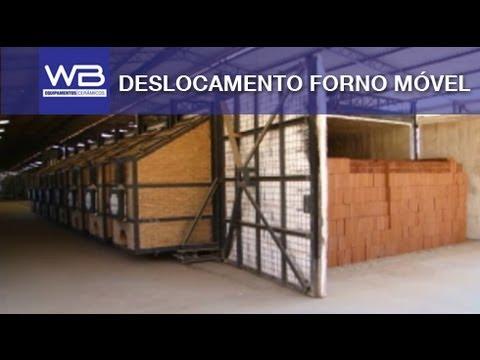 Deslocamento Forno Móvel - WB Equipamentos