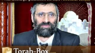 getlinkyoutube.com-Quel intérêt pour D.ieu de créer le monde ? - rav Ron CHAYA (Torah-Box.com)