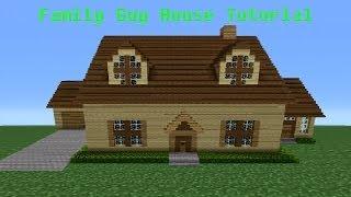 "getlinkyoutube.com-Minecraft Tutorial: How To Make The ""Family Guy"" House"