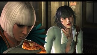 getlinkyoutube.com-Devil May Cry 4 Special Edition Prologue with Lady & Trish Alt Outfits