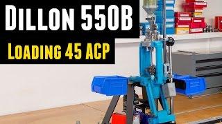 Loading 45ACP on the Dillon 550B