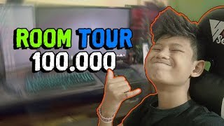 ROOM TOUR 100K SUBSCRIBER