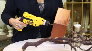 getlinkyoutube.com-Painting Branches for Wedding Decorations : Wedding Decor