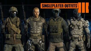 getlinkyoutube.com-Call of Duty: Black Ops 3 - All Singleplayer Outfits/Helmets/Faces (Wardrobe Showcase)
