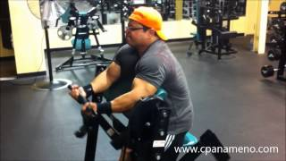 Curl Machine - Tricep Push Downs - 070613