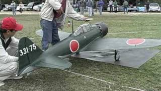 "getlinkyoutube.com-""The battle of the zero fighter! ! (1/3 scale model)"""