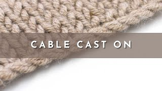 getlinkyoutube.com-The Cable Cast On :: Knitting Cast On #3 :: Right Handed