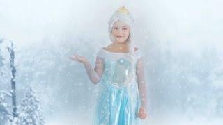 getlinkyoutube.com-Comment se déguiser et se maquiller comme Elsa, La reine des Neiges : Tuto complet.