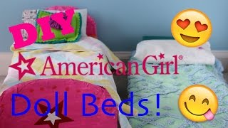 getlinkyoutube.com-DIY American Girl Doll Bed