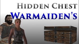 Skyrim: Hidden Chest in Warmaiden's