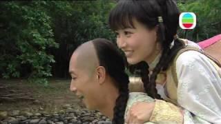 getlinkyoutube.com-TVB 蒲松齡 NG片 馬浚偉揹鍾嘉欣陳法拉 (TVB Channel)