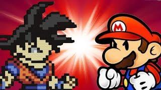 getlinkyoutube.com-Goku VS Super Mario (COMPLETE)