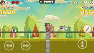 getlinkyoutube.com-Hunter Adventure 2 - Arcade Platform Games - Videos games for Kids - Girls - Baby Android