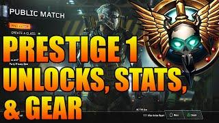 getlinkyoutube.com-Call of Duty Black Ops 3: PRESTIGE 1 Unlocks, Stats, & Gear - What Happens When You Prestige?