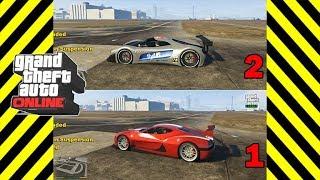 GTA 5 Grotti Visione vs Coil Cyclone - FASTEST GTA ONLINE SMUGGLER'S RUN DLC SUPER CAR!