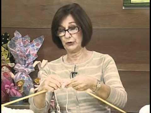 ARTE BRASIL -- CLAUDIA MARIA -- PELERINE TIFFANY EM TRICÔ (01/04/2011 - Parte 1 de 2)
