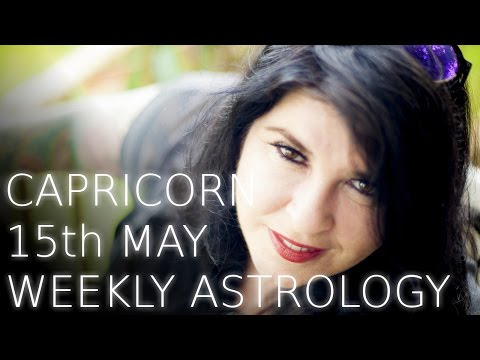 Capricorn Weekly Astrology Forecast 15th May 2017