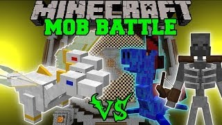 getlinkyoutube.com-THE PRINCE VS WATER DRAGON, VORTEX, & MORE - Minecraft Mob Battles - OreSpawn Mods