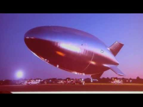 US-Army unmanned untethered 60,000ft Altitude Helium Airship, Hale-D takes off at sunrise in Akron