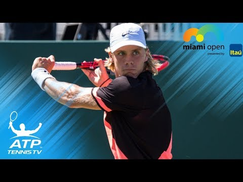 Querrey vs Shapovalov: Top 5 Best Shots | Miami Open 2018 Third Round