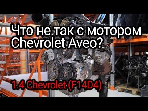 Бюджетный и немного мудреный двигатель Chevrolet Aveo 1.4 (F14D4)