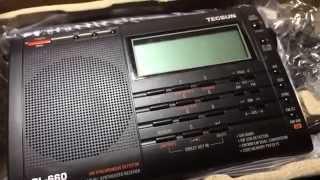 getlinkyoutube.com-BCLラジオ 短波ラジオ TECSUN PL-660レビュー  【アマチュア無線 市民ラジオ 合法CB エアバンド 航空無線】