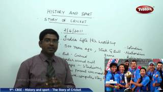 getlinkyoutube.com-Histroy&Sport:The Story of Cricket | Class 9th Social Studies | NCERT | CBSE Syllabus | Live Videos